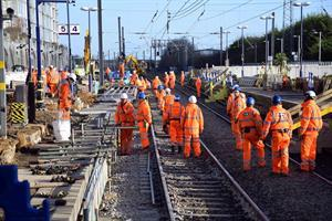 Take a look at Crossrail improvement works carried out over Christmas