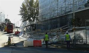 Father recalls sound of collapsing Hayes scaffolding like 'bomb going off'