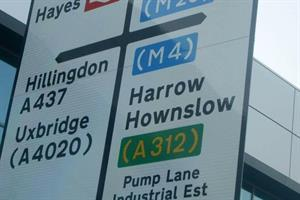 Embarrassing Hayes road sign blunder corrected