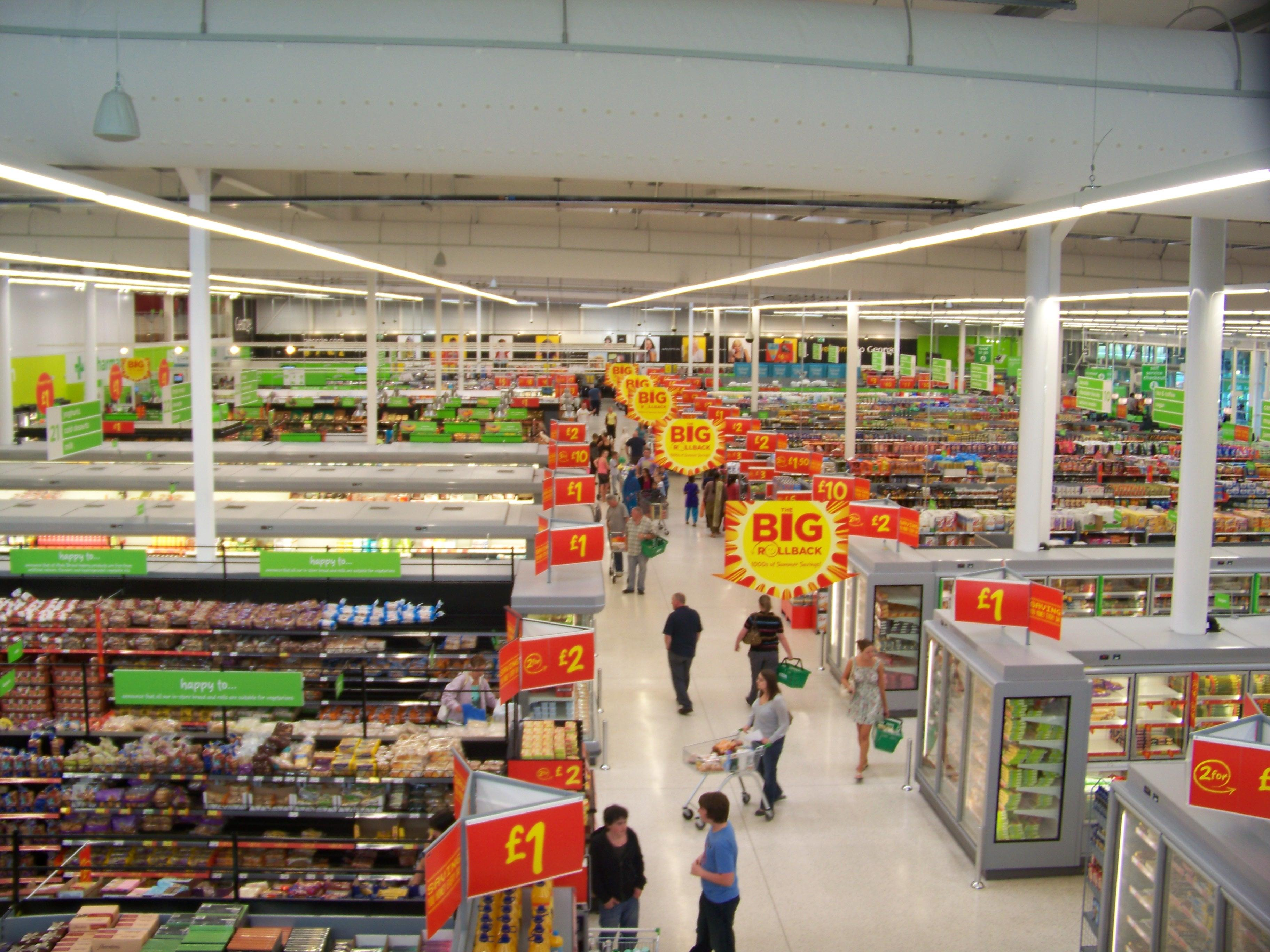 How much is living near a supermarket worth?