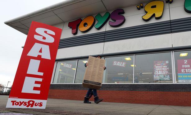 Toys 'R' Us Hayes closing as company shuts a third of UK stores by spring 2018