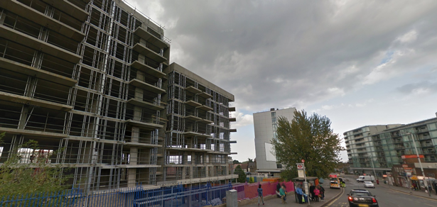 Work restarts on unfinished 11-storey tower block in Hayes after three years